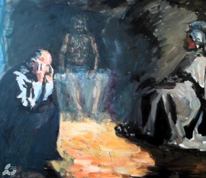Juhos-Kiss Sándor: Krisztus siratása (& Feltámadás)